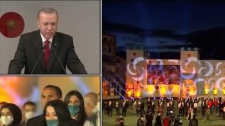 Başkan Erdoğan: Kültüründen habersiz bir neslin hayata tutunması mümkün değildir