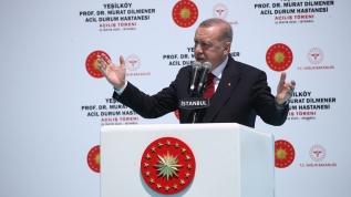 Başkan Erdoğan, açılışını yapmak için Yeşilköy Prof. Dr. Murat Dilmener Acil Durum Hastanesi'nde önemli açıklamalar: Ülkemizin yüz akı olacaklardır