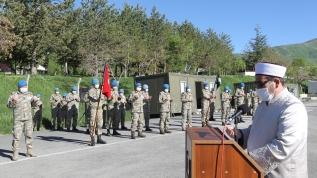 Hakkari'de PKK'lı teröristlerin saldırısında şehit olan iki Mehmetçik memleketlerine törenle uğurlandı