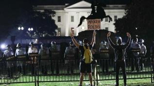 ABD'nin başkenti Washington'da gösteriler nedeniyle 2 günlük sokağa çıkma yasağı