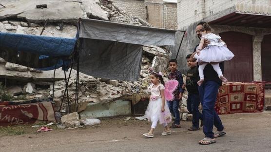 İdlib'de ateşkesin 3'üncü ayında evine dönen sivillerin sayısı 285 bine ulaştı