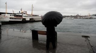 İstanbul için 'kuvvetli yağış' uyarısı
