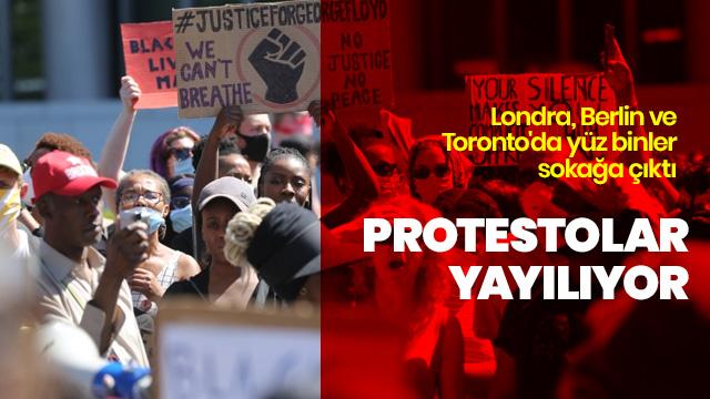 Protestolar yayılıyor!