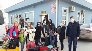 Vatandaşlarını Türkiye'den gemiyle tahliye ettiler