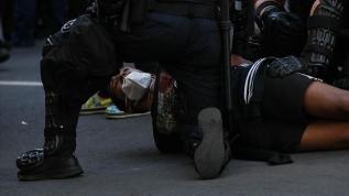 ABD'nin tarihine 'Kara' leke olarak düşecek polis şiddetleri...