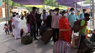 Hindistan'da son 24 saatte rekor koronavirüs vakası