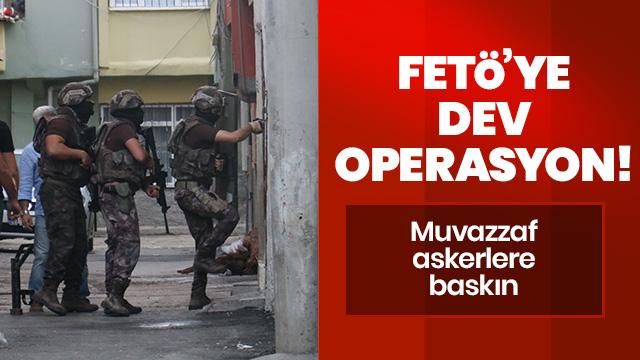 İstanbul merkezli FETÖ operasyonunda 118 şüpheli hakkında gözaltı kararı