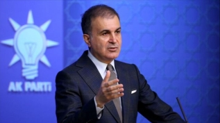 AK Parti Sözcüsü Ömer Çelik MYK toplantısı sonrası açıklama yapıyor