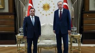 Başkan Erdoğan, Anayasa Mahkemesi Başkanı'nı kabul etti