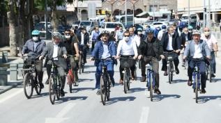 Bisiklet şehri Konya Türkiye'yi örnek alıyor