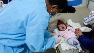 Dünya Sağlık Örgütü: Yemen'de 23 binden fazla çocuk bulaşıcı hastalıklara karşı aşılandı
