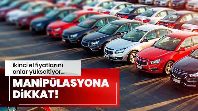 İkinci el araç fiyatları kayıt dışı satışlar yüzünden yükseliyor