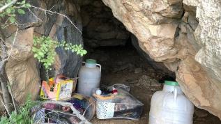PKK'lı teröristlere ait  sığınakta bulundun!