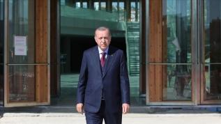 Başkan Erdoğan Yargıtay binasında incelemelerde bulundu