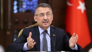 Cumhurbaşkanı Yardımcısı Fuat Oktay'da CHP ve HDP'ye tepki