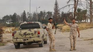 Libya ordusu, Terhune'yi darbeci Hafter'den aldı!