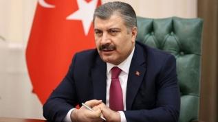 Sağlık Bakanı Koca'dan maske açıklaması