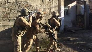 Etkisiz hale getirilen 2 teröriste yardım ve yataklık yapan 7 kişi gözaltına alındı
