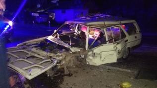 Isparta'da iki otomobil çarpıştı: 6 yaralı
