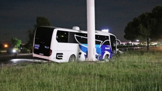 Manisa'da otobüs ile otomobil çarpıştı: 2 ölü, 2 yaralı