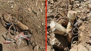 MSB: Hakkari'de, PKK'ya ait 20 adet EYP imha edildi