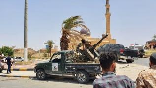 Libya Ordusu, Terhune'de mayın deposu ele geçirdi